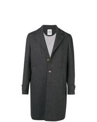 Abrigo largo en gris oscuro de Eleventy
