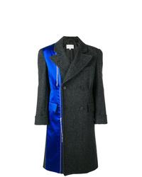 Abrigo largo en gris oscuro de Maison Margiela