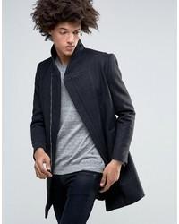 Abrigo largo en gris oscuro de Minimum