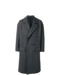 Abrigo largo en gris oscuro de Neil Barrett