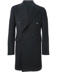 Abrigo largo en gris oscuro de Tagliatore