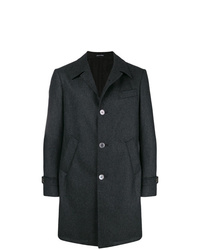 Abrigo largo en gris oscuro de Tombolini