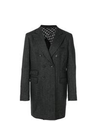 Abrigo largo en gris oscuro de Tonello