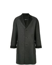 Abrigo largo en gris oscuro de Zambesi
