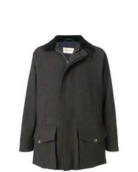 Abrigo largo en marrón oscuro de Holland & Holland