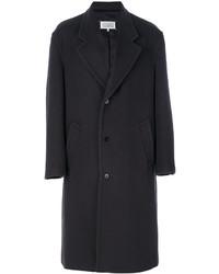 Abrigo largo en marrón oscuro de Maison Margiela