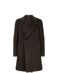 Abrigo largo en marrón oscuro de Tagliatore