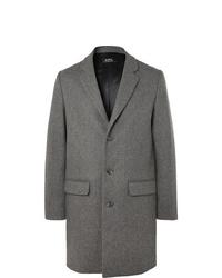 Abrigo largo gris de A.P.C.