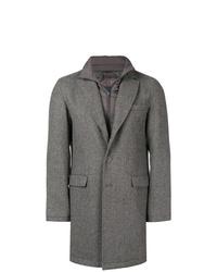 Abrigo largo gris de Herno