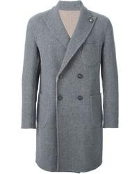 Abrigo largo gris de Lardini