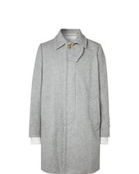 Abrigo largo gris de Sacai
