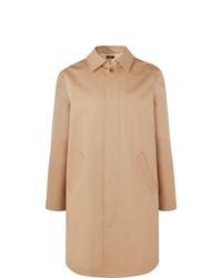 Abrigo largo marrón claro de A.P.C.
