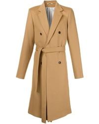 Abrigo largo marrón claro de Ann Demeulemeester