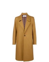 Abrigo largo marrón claro de Chalayan