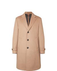 Abrigo largo marrón claro de Ermenegildo Zegna