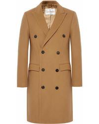 Abrigo largo marrón claro de Privee