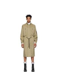 Abrigo largo marrón claro de Random Identities