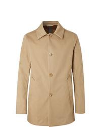 Abrigo largo marrón claro de Salle Privée