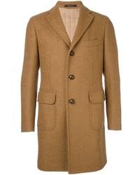 Abrigo largo marrón claro de Tagliatore