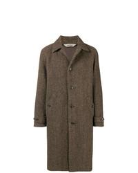 Abrigo largo marrón de Aspesi