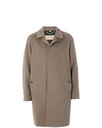 Abrigo largo marrón de Burberry