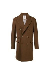 Abrigo largo marrón de Eleventy