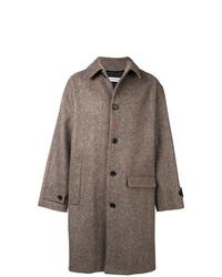 Abrigo largo marrón de Gosha Rubchinskiy