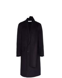 Abrigo largo morado oscuro de JW Anderson