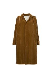 Abrigo largo mostaza de 08sircus
