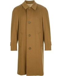Abrigo largo mostaza de Aquascutum London