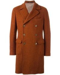Abrigo largo naranja de Tagliatore