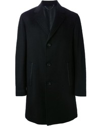 Abrigo largo negro de Brioni