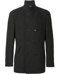 Abrigo largo negro de Brunello Cucinelli
