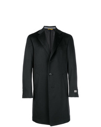 Abrigo largo negro de Canali