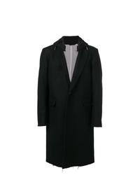 Abrigo largo negro de Diesel