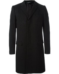 Abrigo largo negro de Dolce & Gabbana
