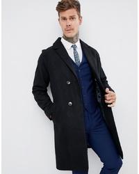 Abrigo largo negro de Harry Brown