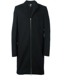 Abrigo largo negro de Hood by Air