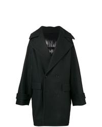 Abrigo largo negro de Juun.J