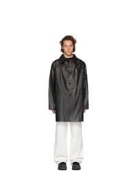 Abrigo largo negro de Kassl Editions