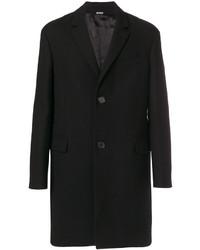 Abrigo largo negro de Lanvin