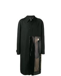Abrigo largo negro de Maison Margiela