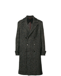 Abrigo largo negro de Missoni