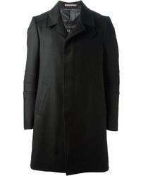 Abrigo largo negro de Moschino