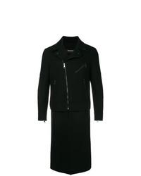 Abrigo largo negro de Neil Barrett