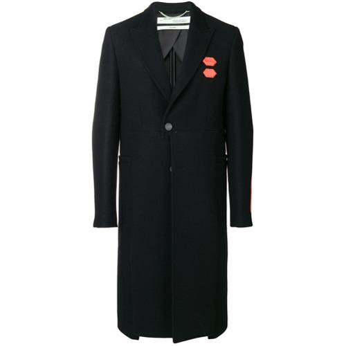 bajo costo 41c40 9a2ba €1.350, Abrigo largo negro de Off-White