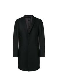 Abrigo largo negro de Ps By Paul Smith