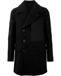 Abrigo largo negro de Rick Owens