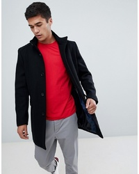 Abrigo largo negro de Selected Homme