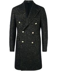 Abrigo largo negro de Tagliatore